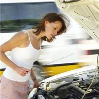 Check the fluid levels in your vehicle.